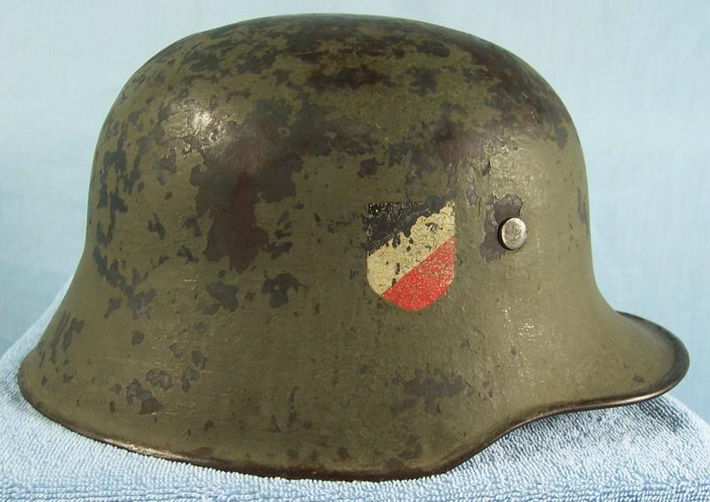 Transitional Heer Helmets (M16 – M18) – German Helmet Vault